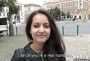 Public Fuck WIth Sexy Teen Amateur With the addition of Horny Tourist Be expeditious for Cash 20