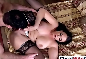 (alison tyler) Low-spirited Housewife In Cheating Hardcore Sex clip-04