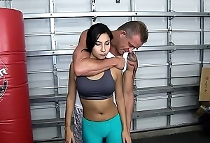 Daddy Teaches Jade Self Defense