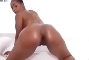 African Sweet Barbie with Perfect Boobs and Spoils - FOR MORE - savageporno.com