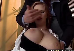 Brazzers - Big Tits at Work - Dont Call In Sick Just Fuck the Boss scene starring Tarra White and Da