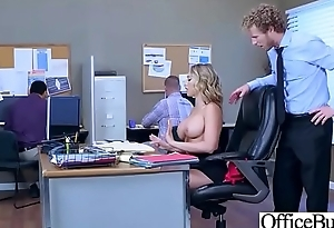 Hard Sex With Big Round Tits Grotesque Office Girl (Kagney Linn Karter) video-12
