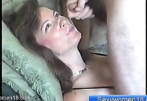 Amateur Milf like Cum in mouth and Cum on face SexyWomen18.com
