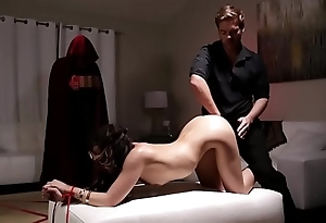 Bound and naked woman Whitney Wright