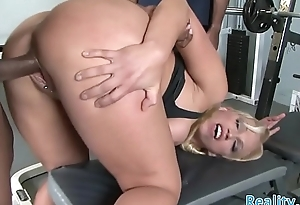 Busty milf IR fucked in front of her economize