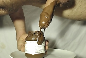 Chocolate dipped cock