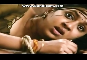 Lakshmi Menon boobs show deep cleavage