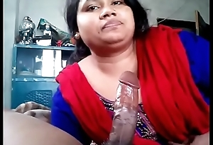Indian Horny wife sucking cock