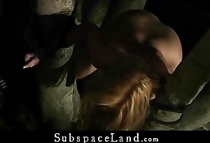Adorable Teen punish tied up and brutaly fucked hard bdsm