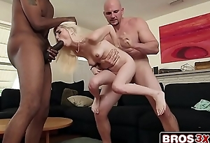 2 Black Monster Cocks Vs. Tiny Teen Spinner Piper Perri