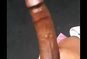 Stroking bbc for some thot
