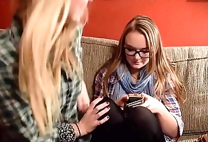 Delicious amateur teen feet bound and worshipped: Corinna &amp_ Delaney