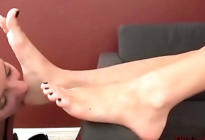 Fun Licking and Sucking Yummy Toes and Soles - Feet Worship 2