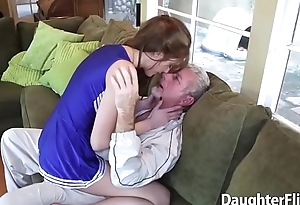 Attractive Brunette Woman Giving Head and Dicked