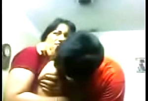 Amateur Indian couple kiss sensually set right up